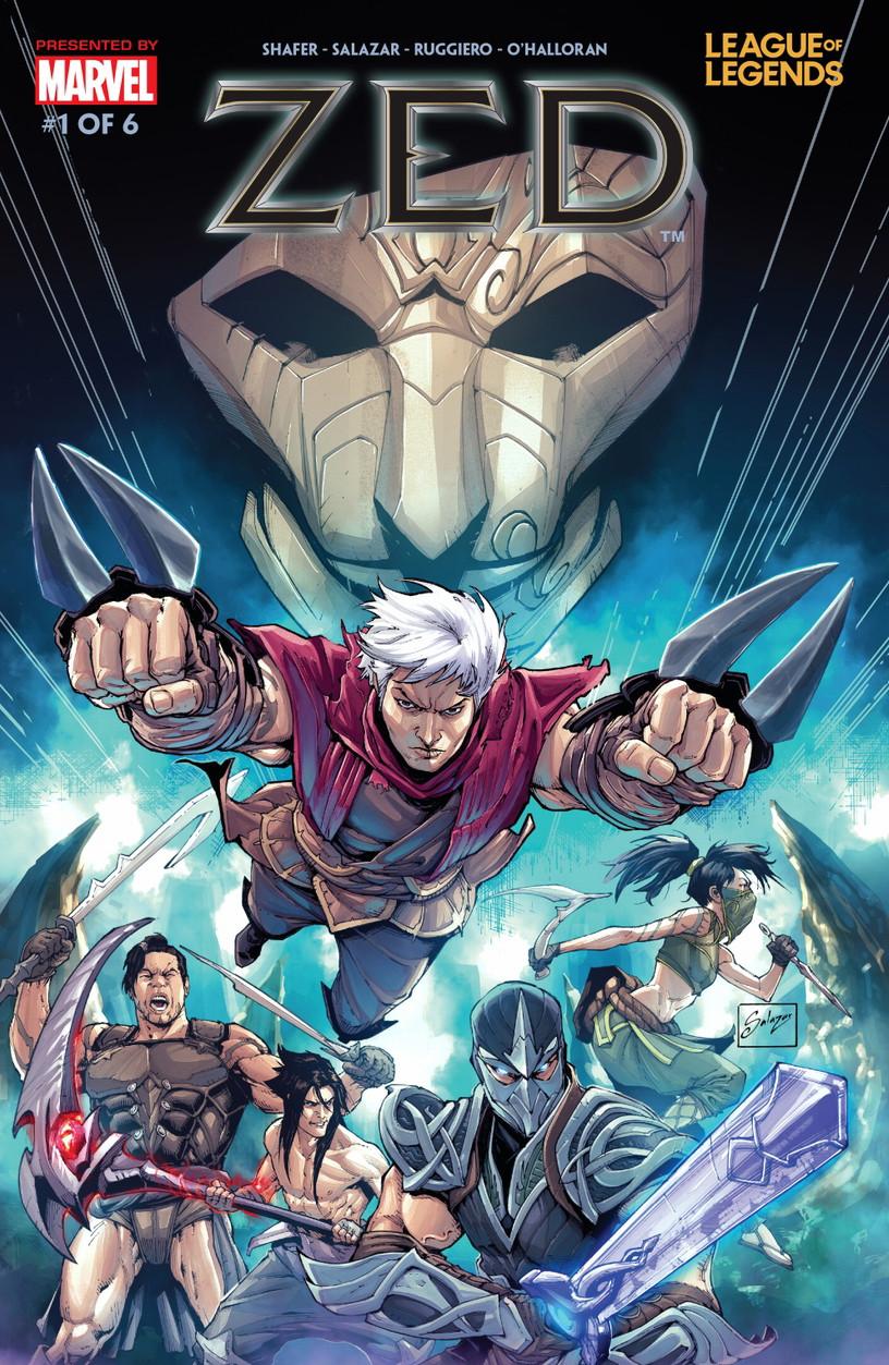 League of Legends: Zed Vol 1 1