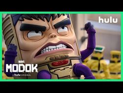 Marvel's M.O.D.O.K. - Trailer (Official) • A Hulu Original-2