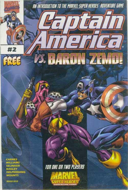 Marvel Super Heroes Adventure Game Vol 1 2