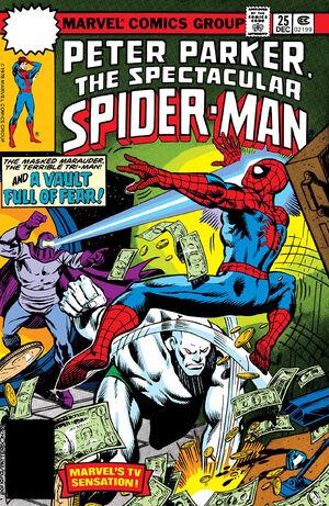 Peter Parker, The Spectacular Spider-Man Vol 1 25.jpg