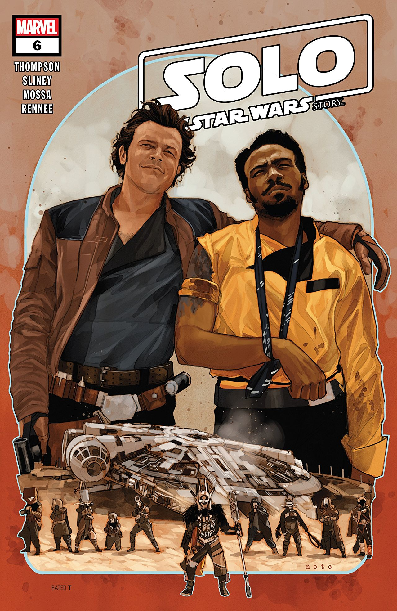Solo: A Star Wars Story Adaptation Vol 1 6