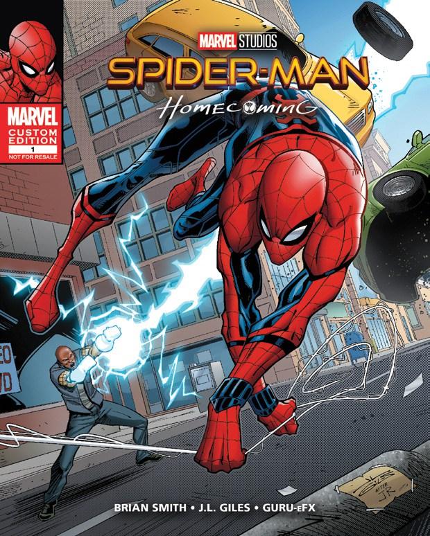 Spider-Man Homecoming: School of Shock Vol 1 1