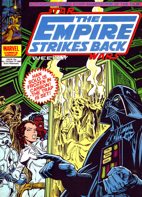 The Empire Strikes Back Weekly (UK) Vol 1 133