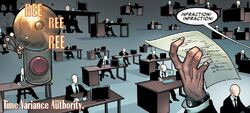 Time Variance Authority (Null-Time Zone) from Avenging Spider-Man Vol 1 17 001.jpg