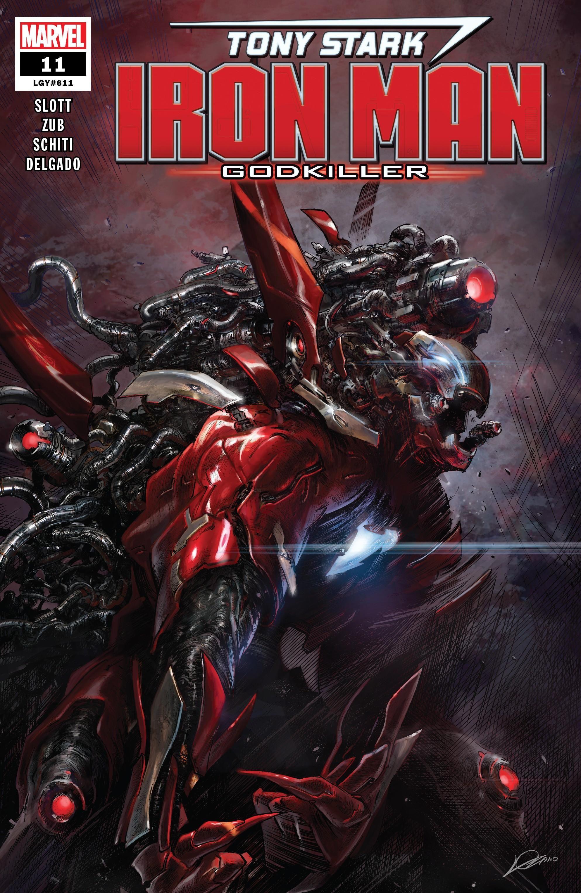 Tony Stark: Iron Man Vol 1 11