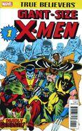 True Believers Giant-Size X-Men Vol 1 1