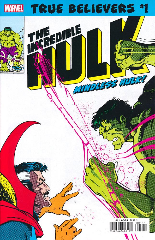 True Believers: Hulk - Mindless Hulk Vol 1 1