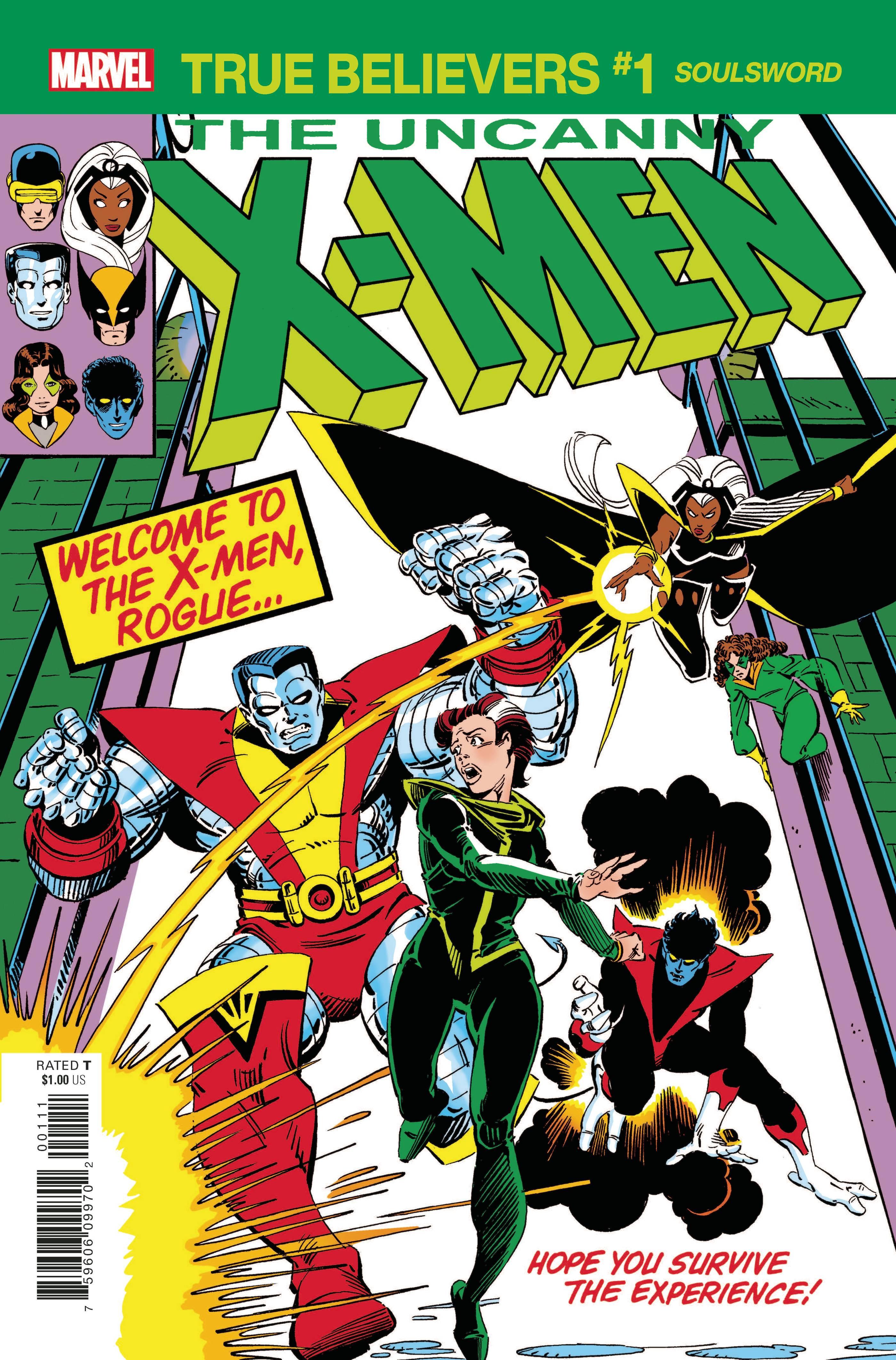 True Believers: X-Men - Soulsword Vol 1 1