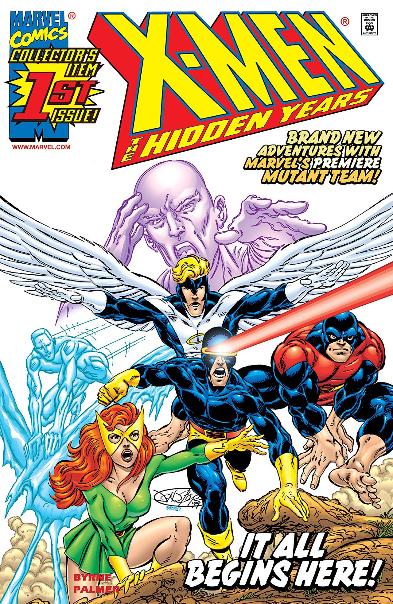X-Men: The Hidden Years Vol 1 1