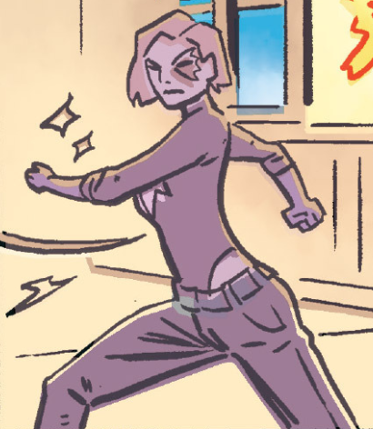 Alison Blaire (Earth-TRN656) from X-Men Worst X-Man Ever Vol 1 2 001.png