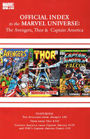 Avengers, Thor & Captain America Official Index to the Marvel Universe Vol 1 3