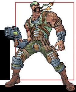 Bernard Hoyster (Earth-616) from Deadpool Corps Rank and Foul Vol 1 1 001.jpg
