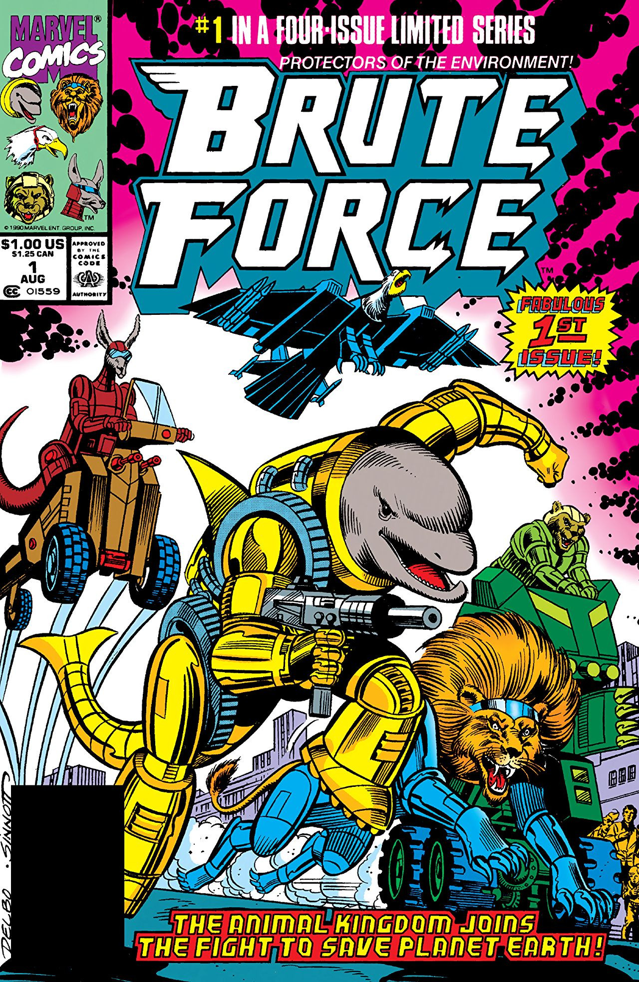 Project Brute Force (Earth-616)/Gallery