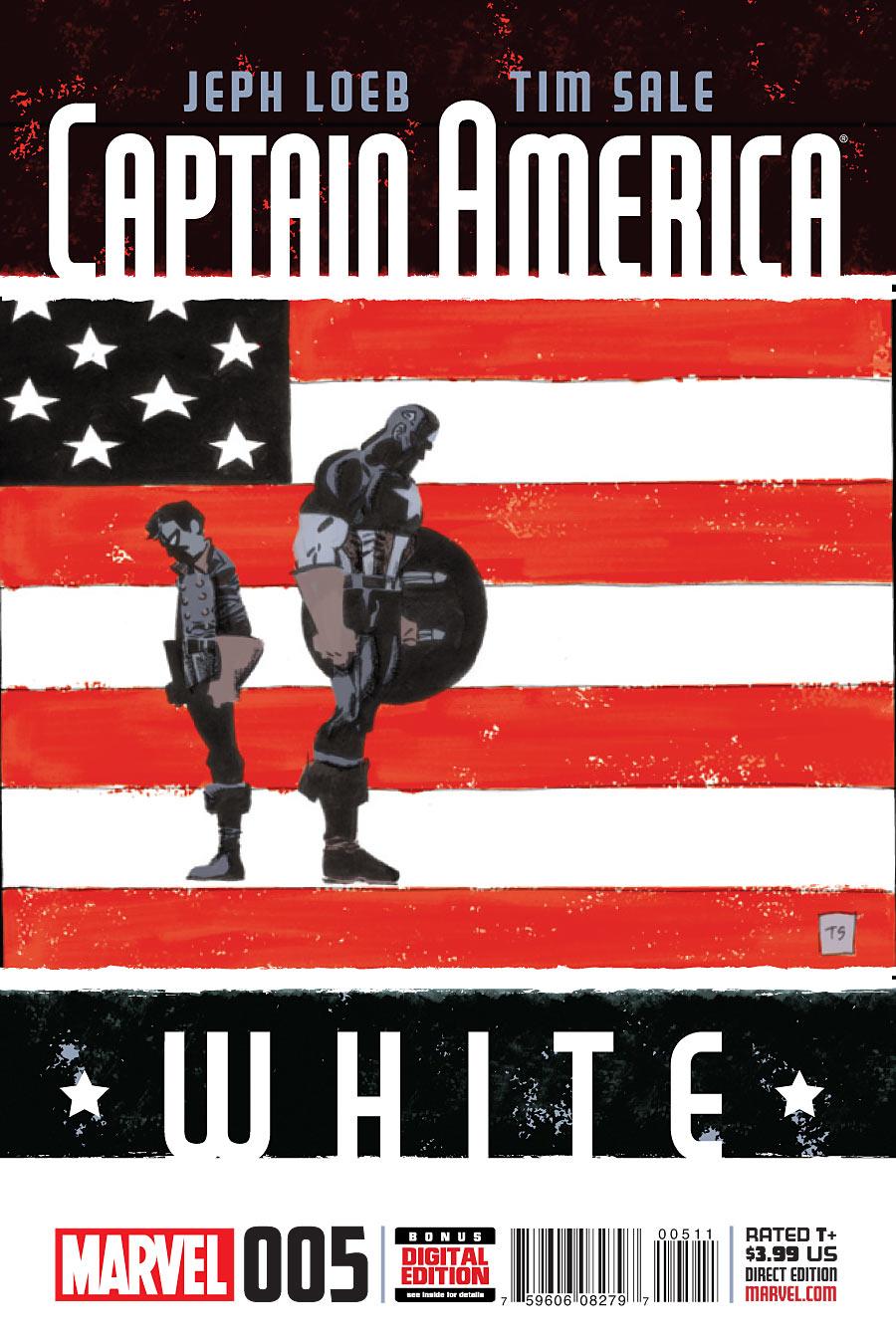 Captain America: White Vol 1 5