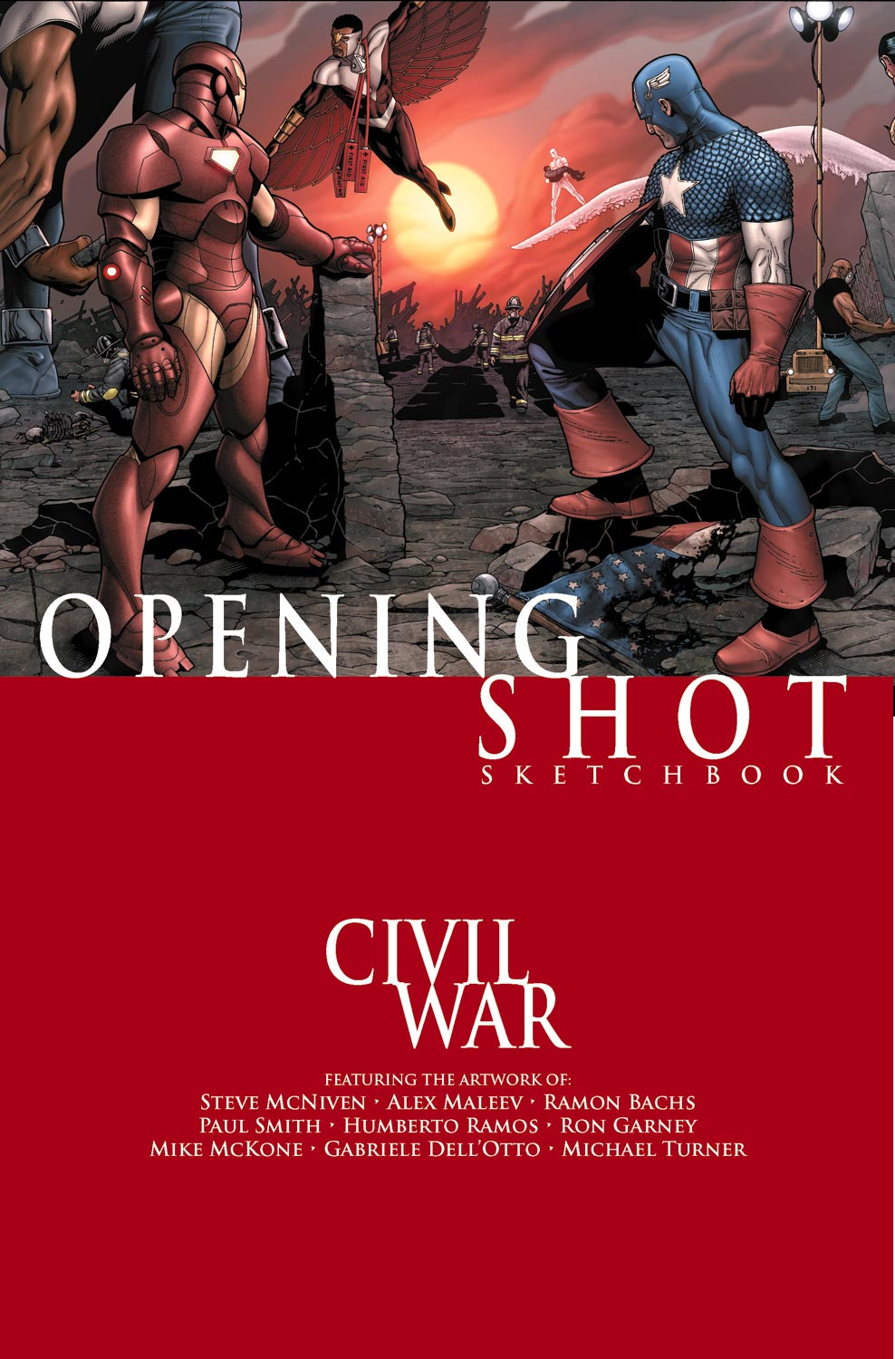 Civil War Opening Shot Sketchbook Vol 1 1