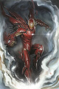 Invincible Iron Man Vol 3 1 Granov Variant Textless