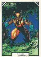 James Howlett (Earth-616) from Arthur Adams Trading Card Set 0003