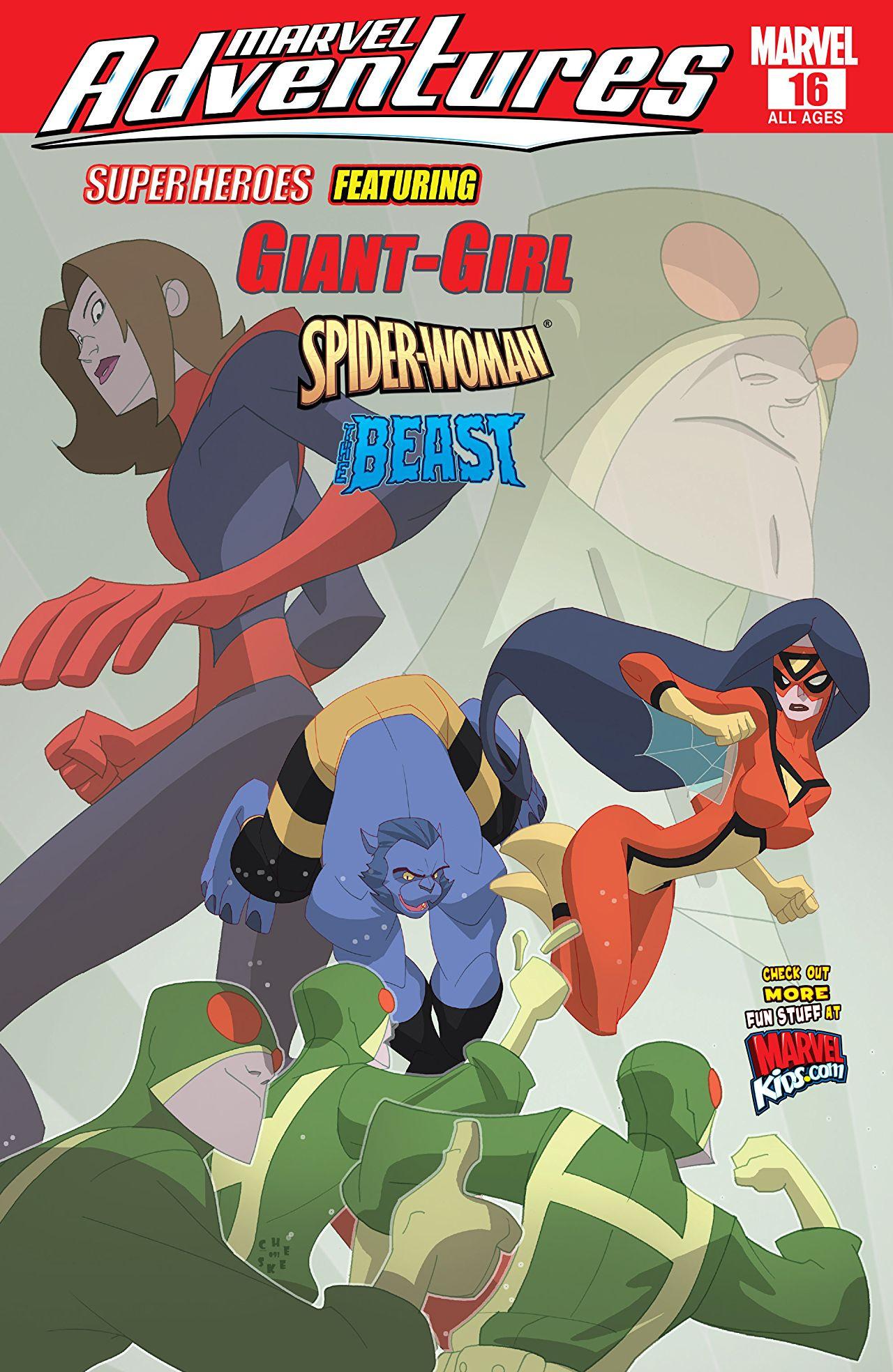 Marvel Adventures Super Heroes Vol 1 16