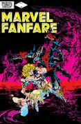Marvel Fanfare Vol 1 2