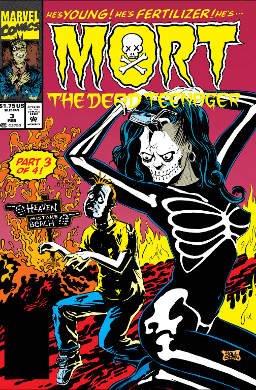 Mort the Dead Teenager Vol 1 3