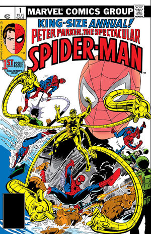 Peter Parker, The Spectacular Spider-Man Annual Vol 1 1.jpg