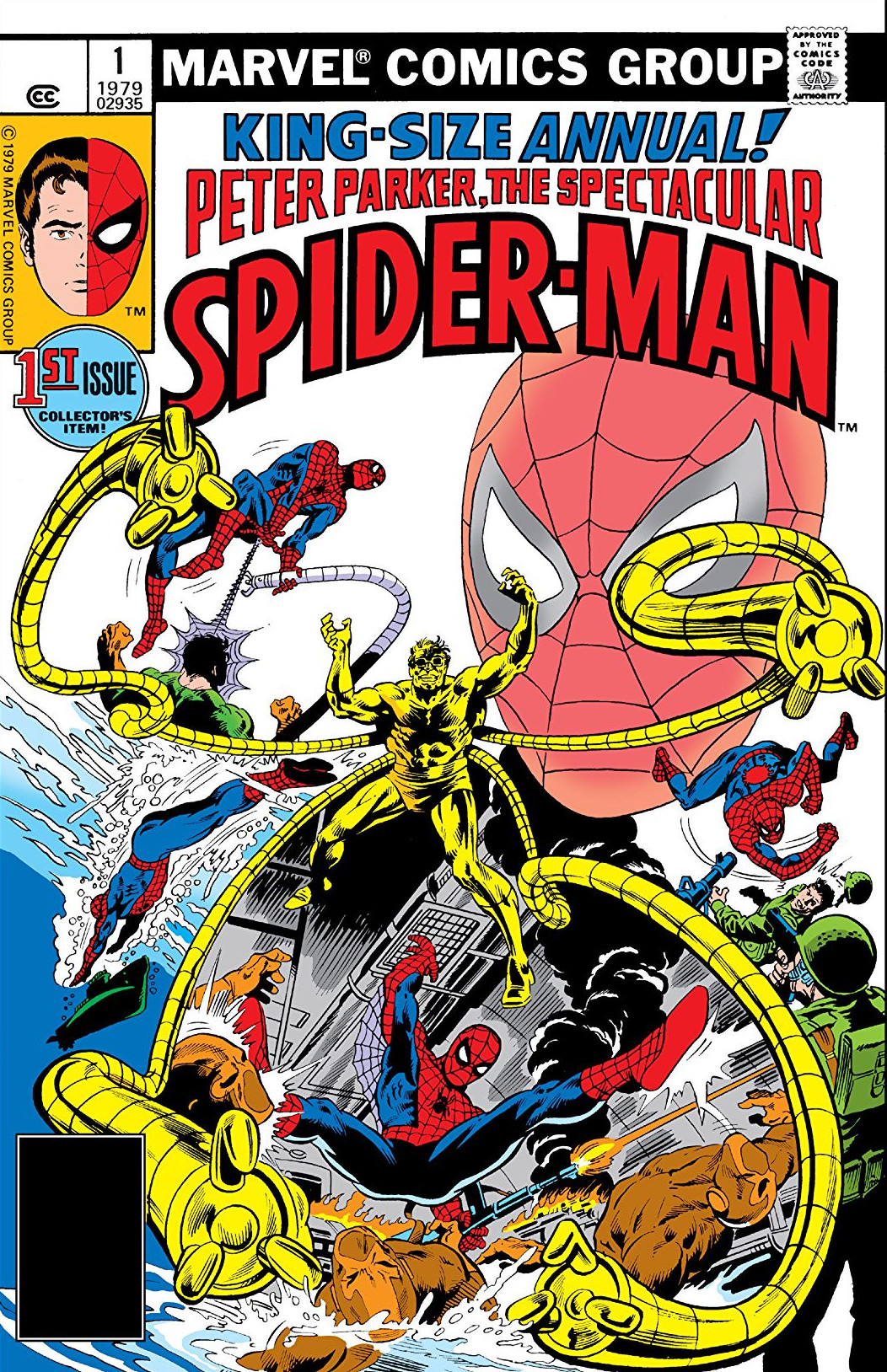 Peter Parker, The Spectacular Spider-Man Annual Vol 1 1