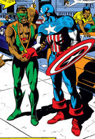 Steve Rogers (Earth-616) Captain America and the Falcon from Captain America Vol 1 120