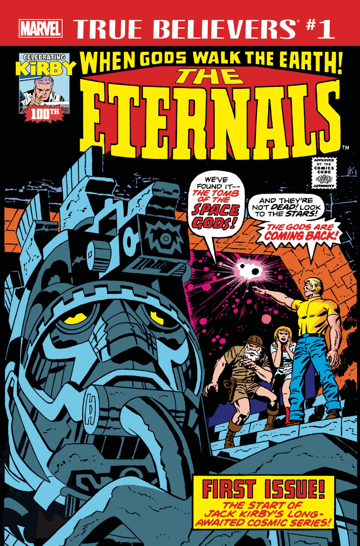True Believers: Kirby 100th - Eternals Vol 1 1