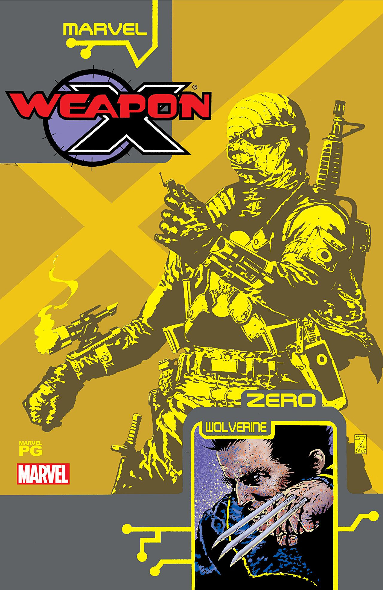 Weapon X: The Draft - Agent Zero Vol 1 1