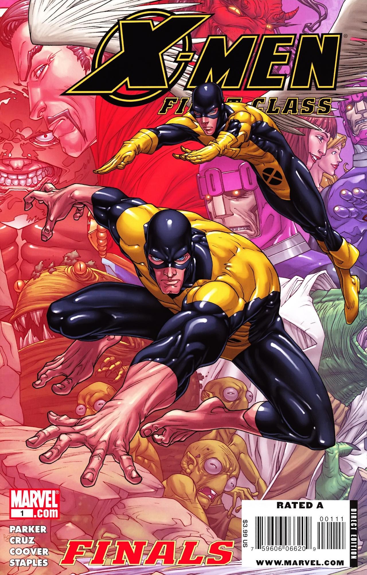 X-Men: First Class Finals Vol 1 1