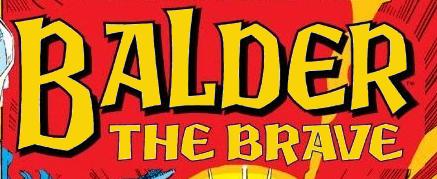 Thor: Balder the Brave TPB Vol 1