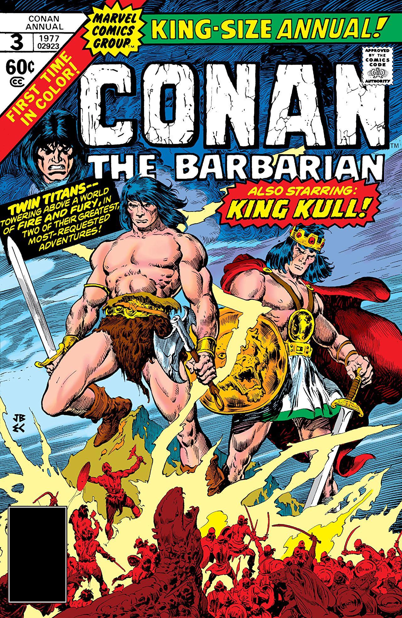 Conan the Barbarian Annual Vol 1 3