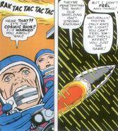 De FF getroffen door kosmische straling (FF-1)