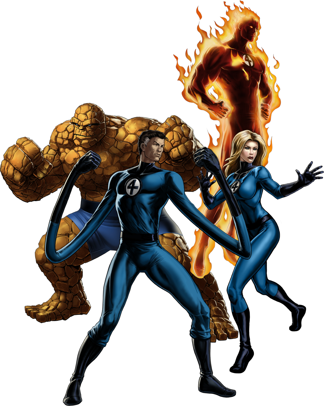 Fantastic Four (Earth-12131)/Gallery