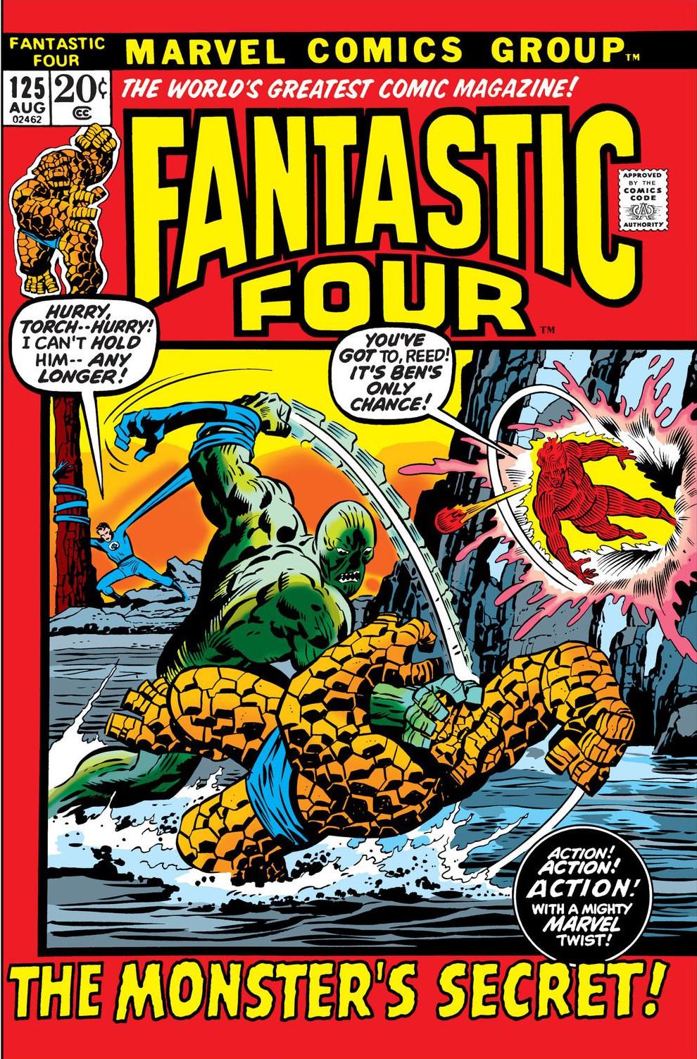 Fantastic Four Vol 1 125