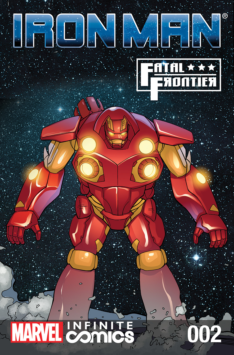 Iron Man: Fatal Frontier Infinite Comic Vol 1 2