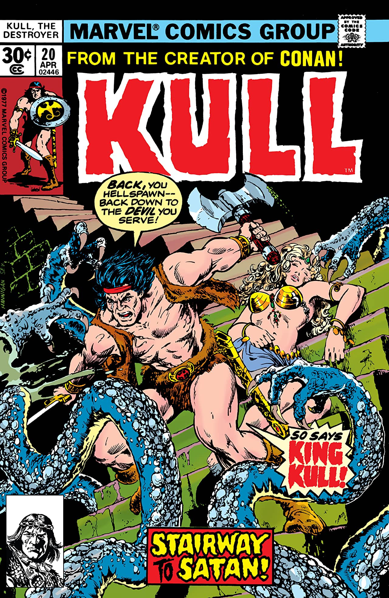 Kull the Destroyer Vol 1 20
