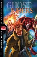 Marvel Mangaverse Ghost Riders Vol 1 1