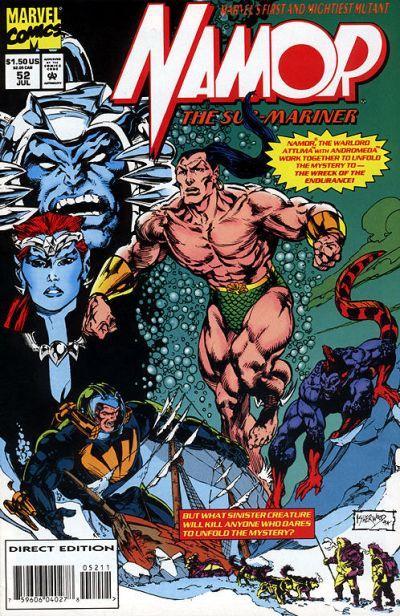Namor the Sub-Mariner Vol 1 52