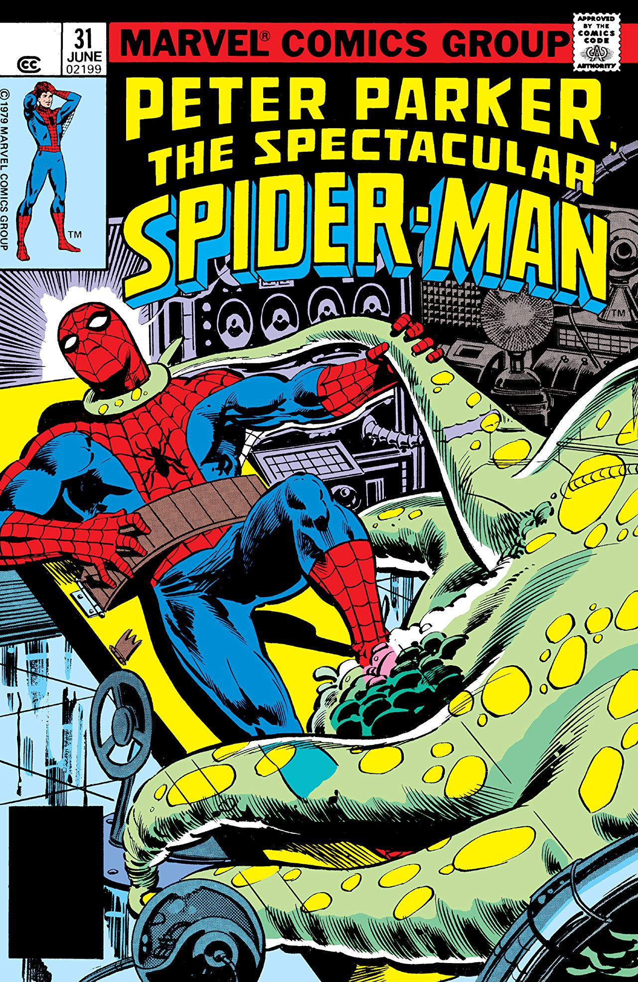 Peter Parker, The Spectacular Spider-Man Vol 1 31