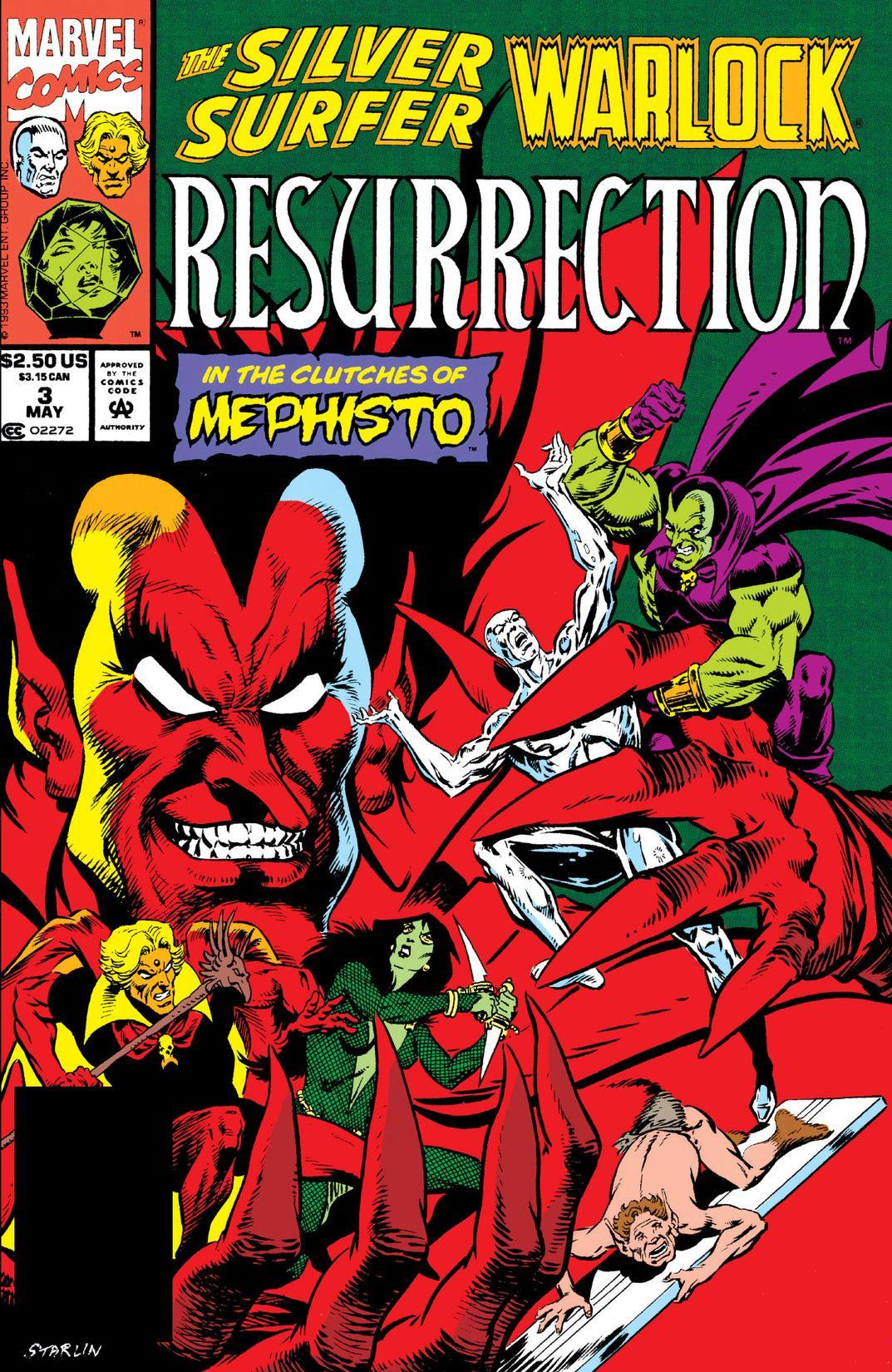 Silver Surfer/Warlock: Resurrection Vol 1 3