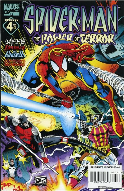 Spider-Man: Power of Terror Vol 1 4