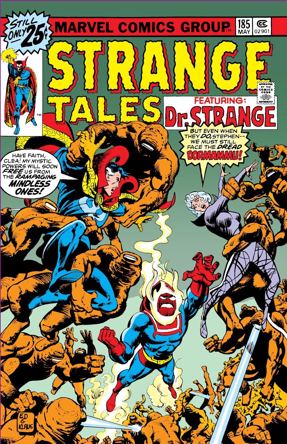 Strange Tales Vol 1 185