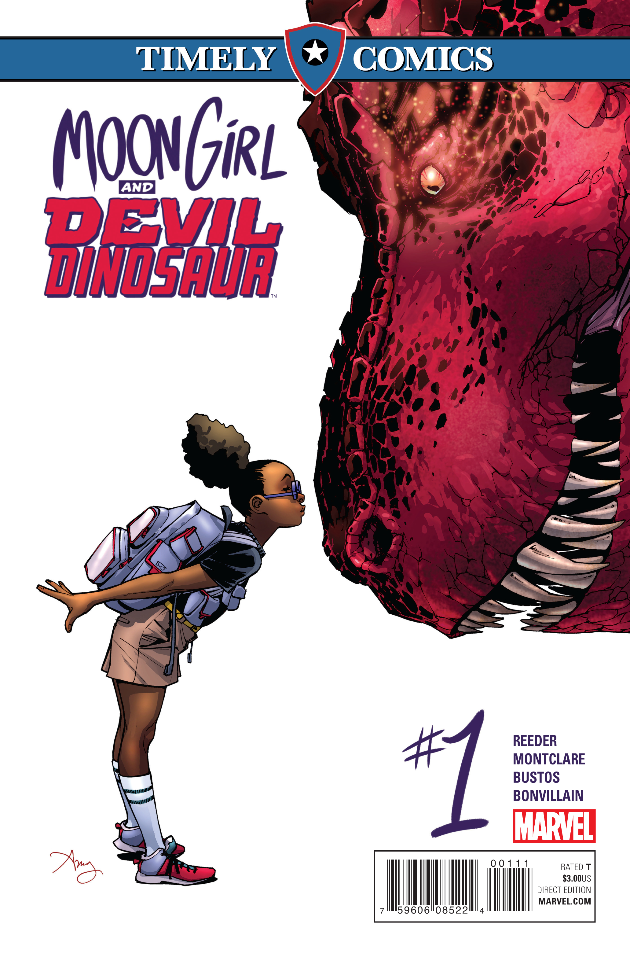 Timely Comics: Moon Girl and Devil Dinosaur Vol 1 1