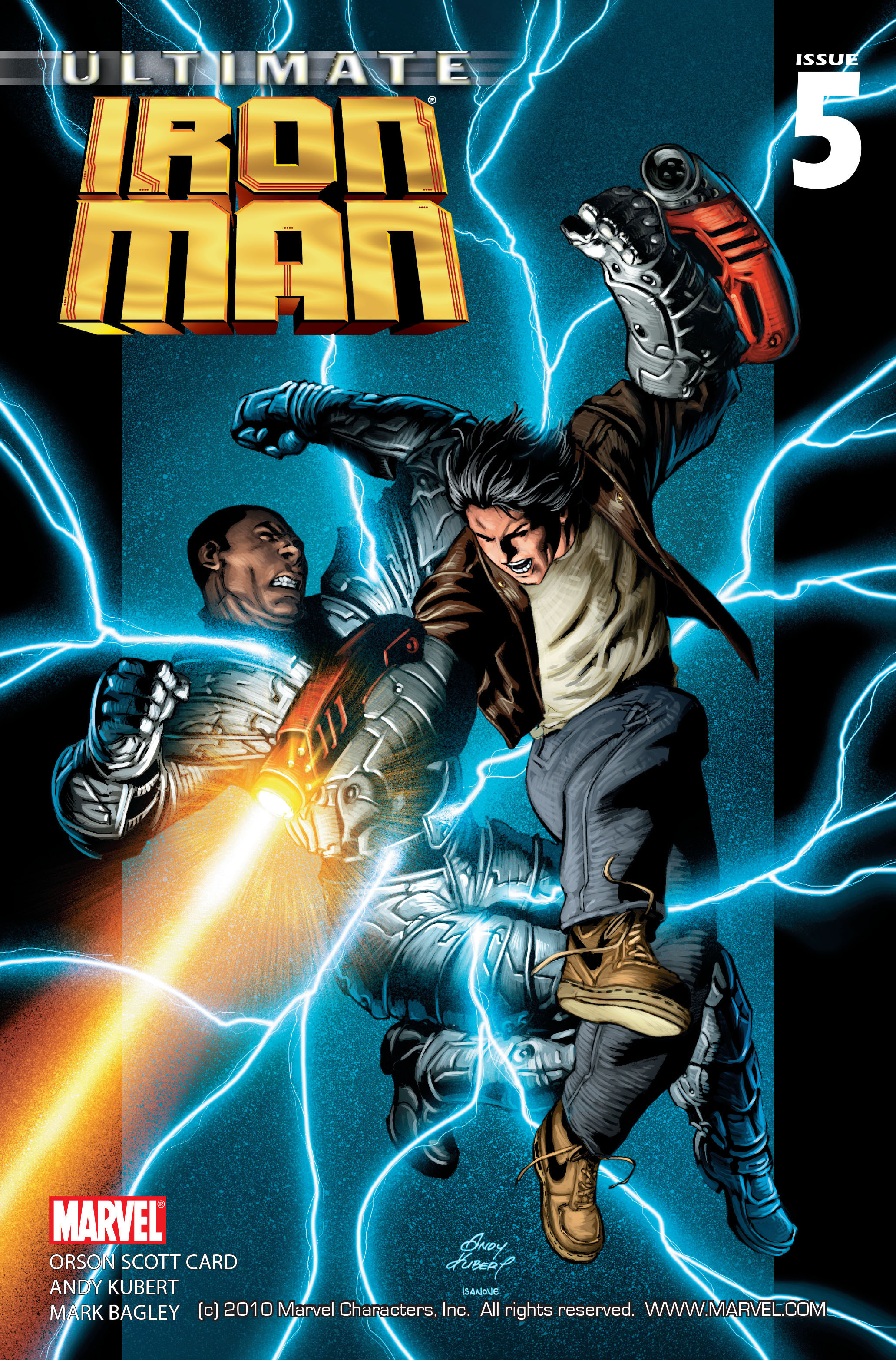 Ultimate Iron Man Vol 1 5