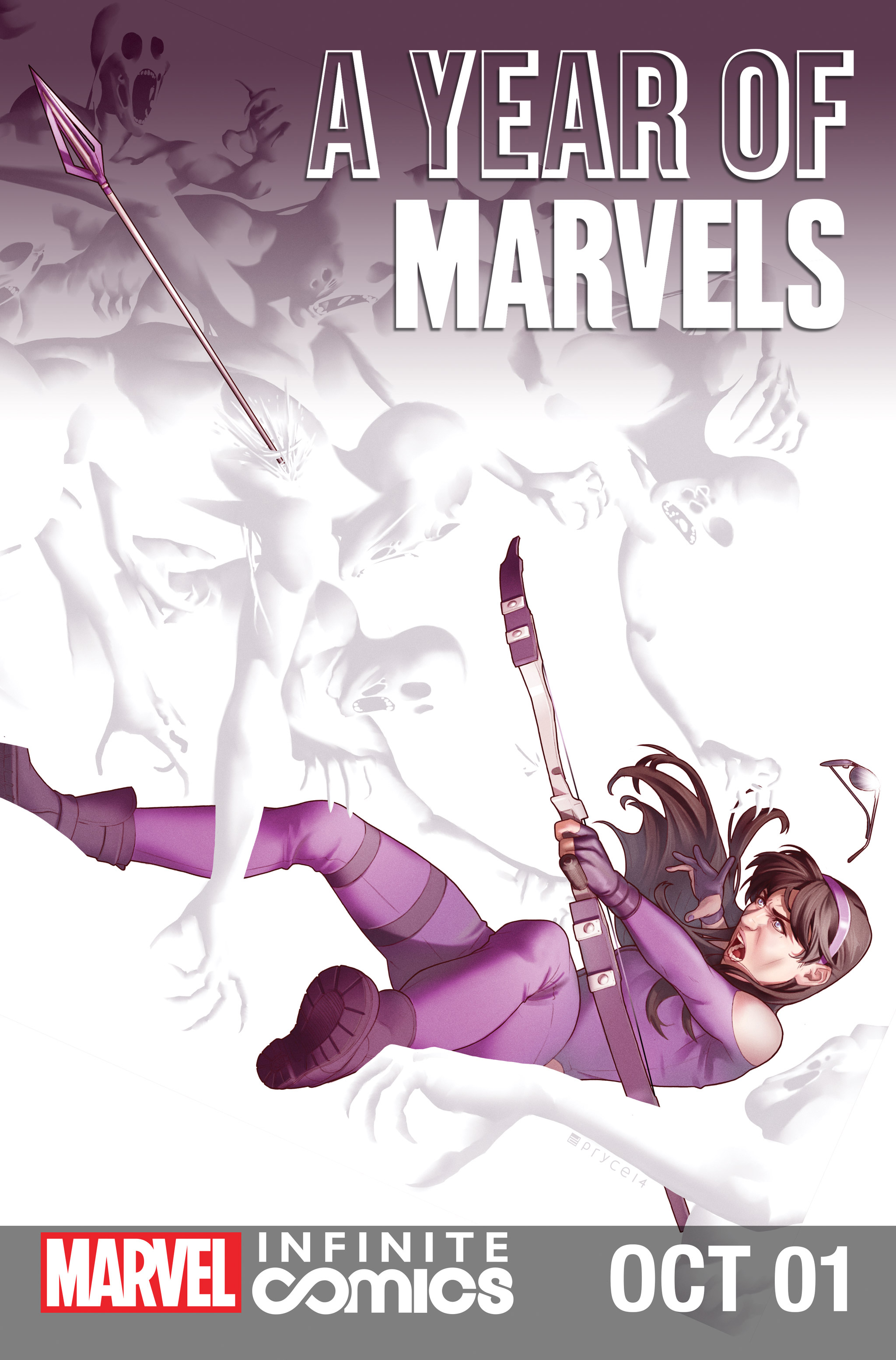 Year of Marvels: October Infinite Comic Vol 1 1