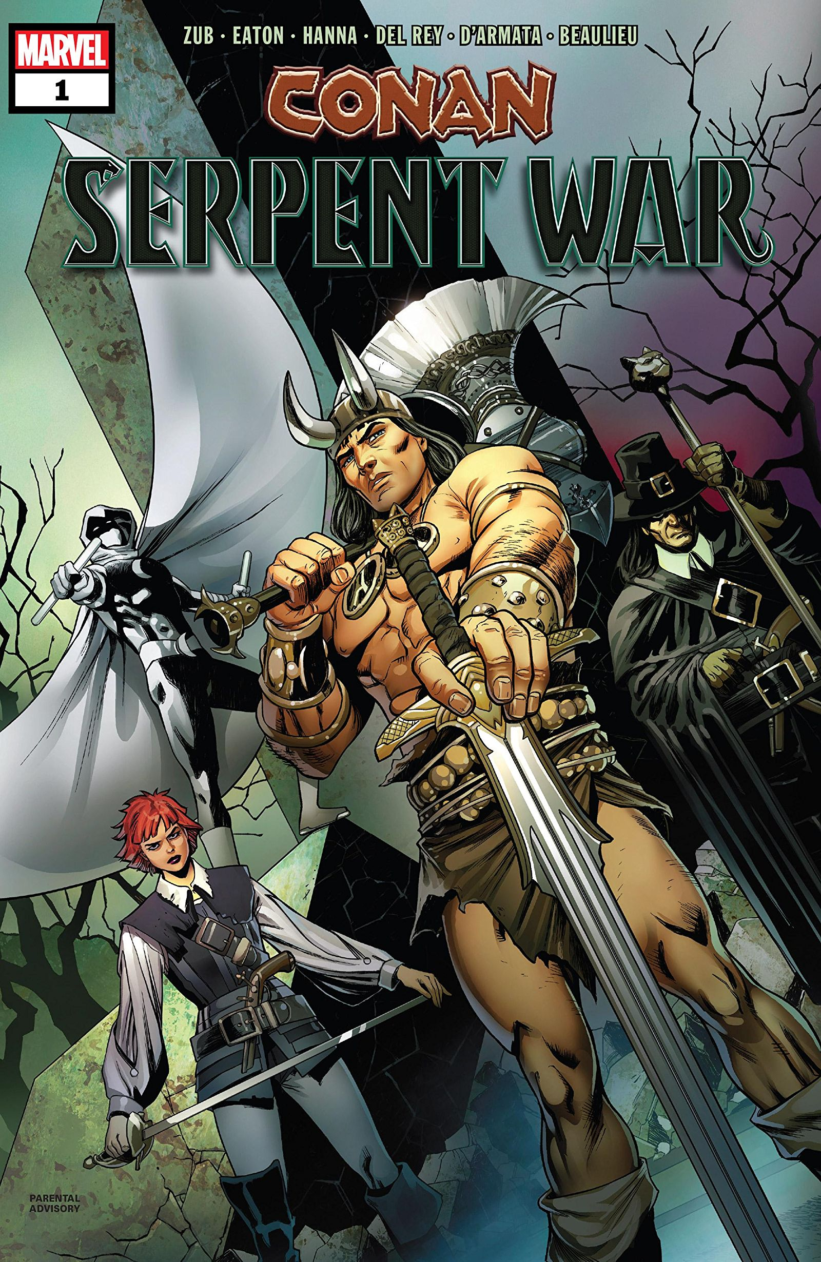 Conan: Serpent War Vol 1