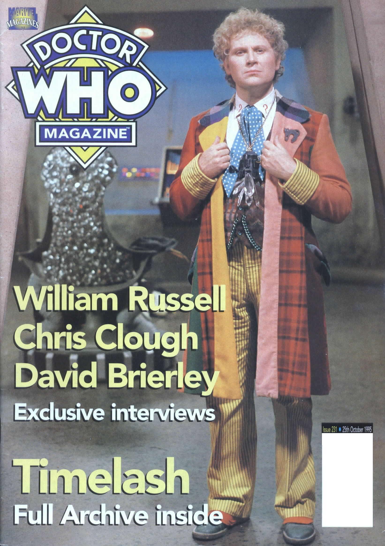 Doctor Who Magazine Vol 1 231