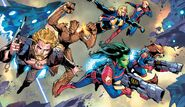 Guardians of the Galaxy (Earth-616) from Guardians of the Galaxy Vol 6 13 001