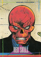 Johann Shmidt (Earth-616) from Marvel Universe Trading Cards 1993 Set 0001